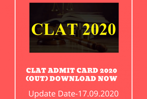 CLAT Admit Card 2020 (Out) Download Now