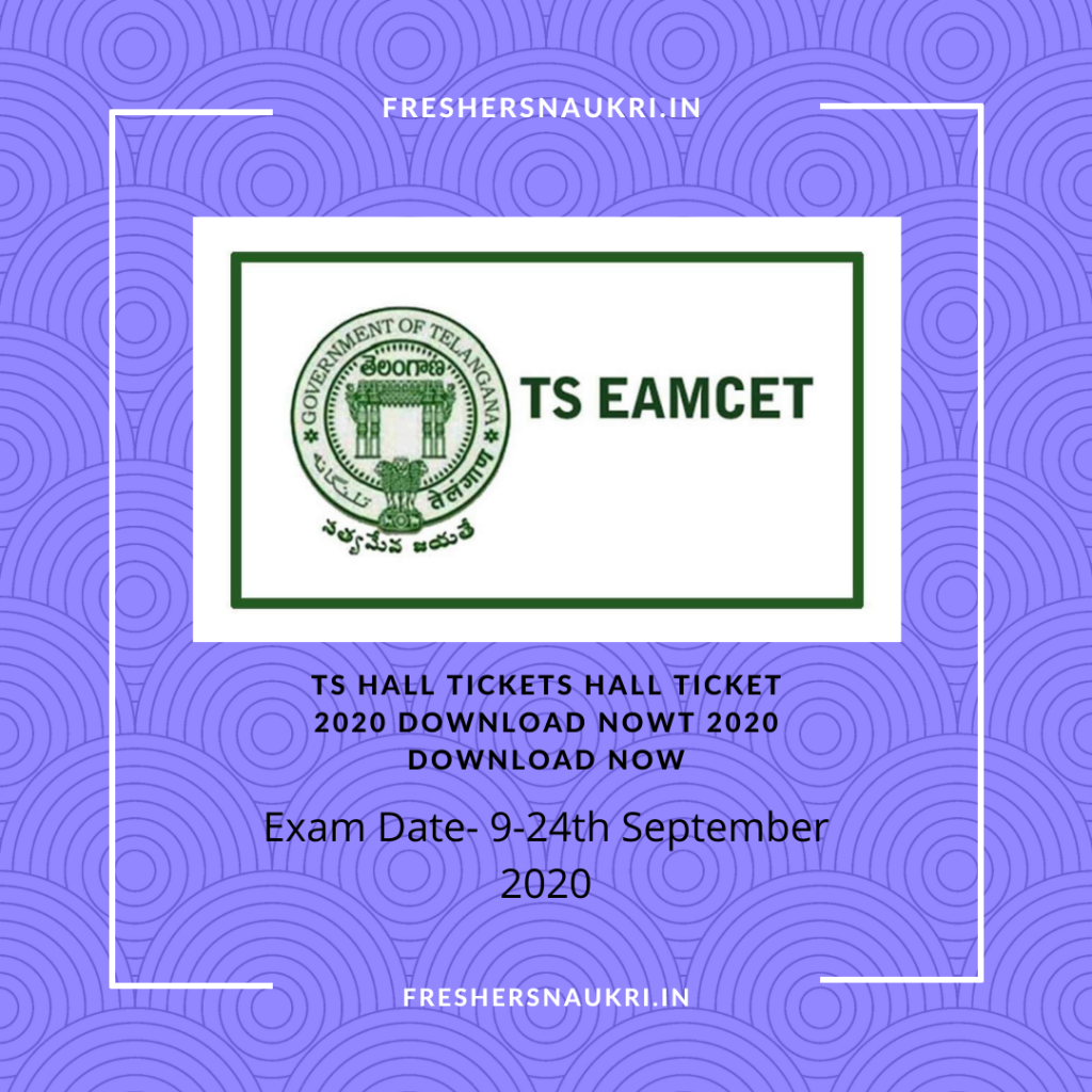 TS Hall Ticket 2020 download Now