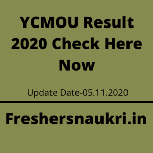 YCMOU Result 2020 Check Here Now