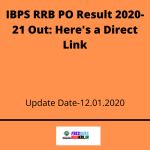 IBPS RRB PO Result 2020-21 Out: Here's a Direct Link