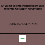 AP Grama Volunteer Recruitment 2021 -10th Pass Also Apply, Ap Govt Jobs